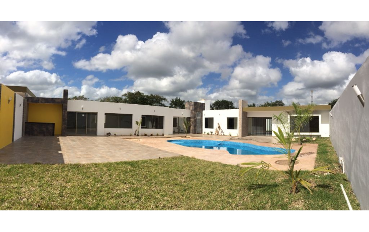 Foto de casa en venta en  , temozon norte, mérida, yucatán, 1296727 No. 01