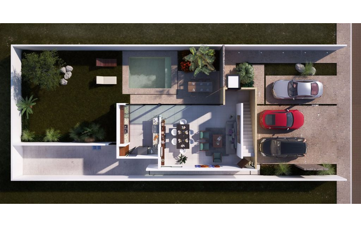 Foto de casa en venta en  , temozon norte, mérida, yucatán, 1297875 No. 04
