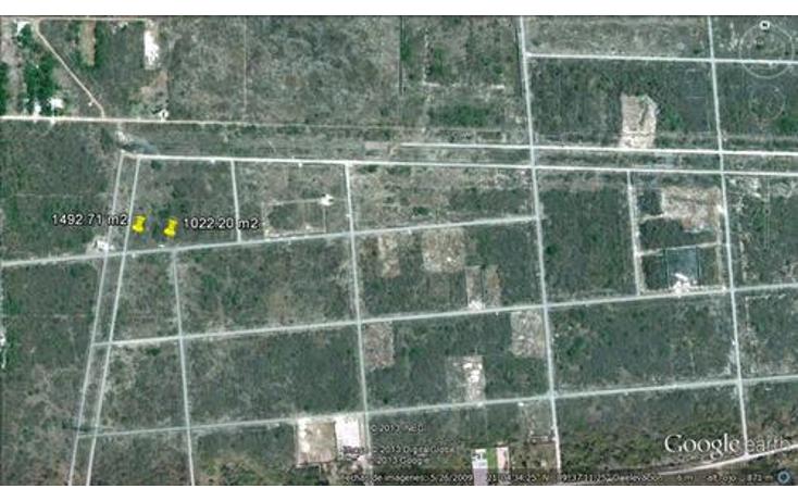 Foto de terreno habitacional en venta en  , temozon norte, mérida, yucatán, 1298977 No. 01