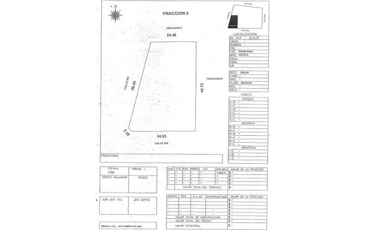 Foto de terreno habitacional en venta en  , temozon norte, mérida, yucatán, 1298977 No. 03