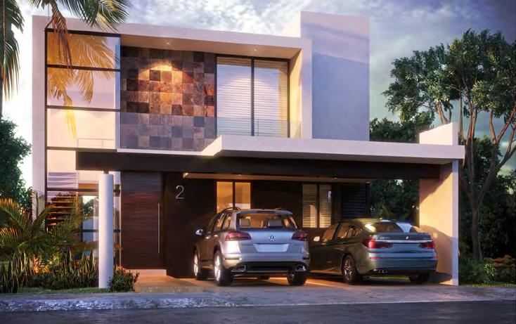 Foto de casa en venta en  , temozon norte, mérida, yucatán, 1309129 No. 03