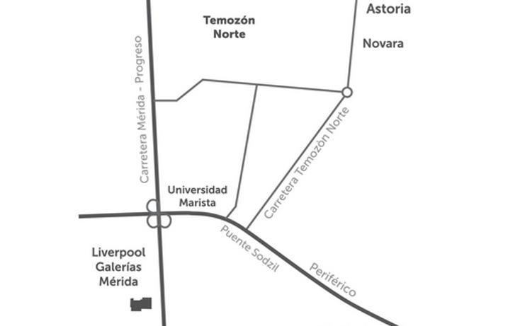 Foto de terreno habitacional en venta en  , temozon norte, mérida, yucatán, 1323439 No. 04