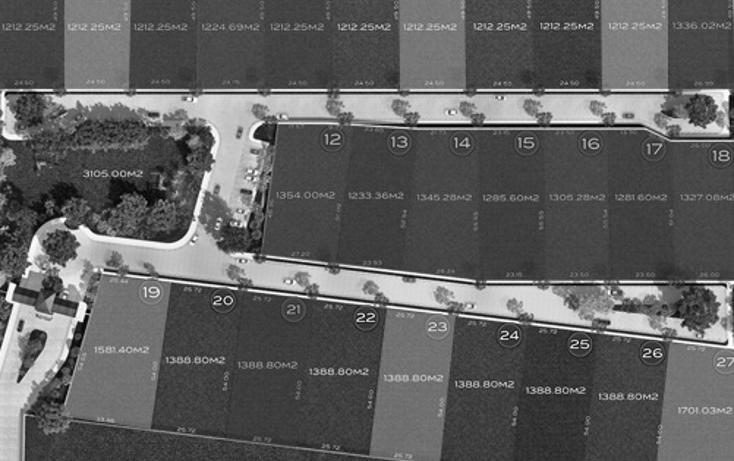 Foto de terreno habitacional en venta en  , temozon norte, mérida, yucatán, 1370901 No. 05