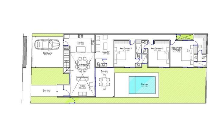 Foto de casa en venta en  , temozon norte, mérida, yucatán, 1373659 No. 10