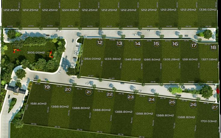 Foto de terreno habitacional en venta en  , temozon norte, mérida, yucatán, 1380499 No. 04