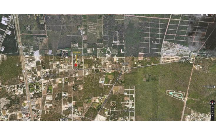 Foto de terreno habitacional en venta en  , temozon norte, mérida, yucatán, 1380669 No. 01