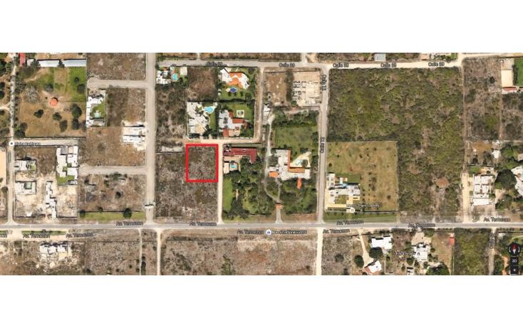 Foto de terreno habitacional en venta en  , temozon norte, mérida, yucatán, 1380669 No. 03