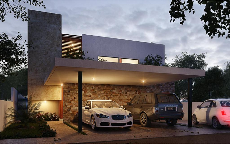 Foto de casa en venta en  , temozon norte, m?rida, yucat?n, 1400901 No. 01