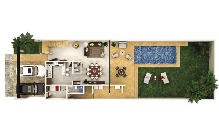 Foto de casa en venta en  , temozon norte, mérida, yucatán, 1406117 No. 09