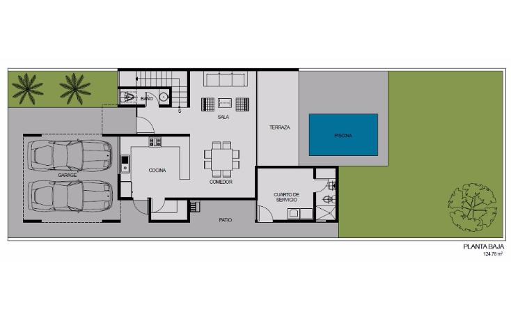 Foto de casa en venta en  , temozon norte, m?rida, yucat?n, 1429303 No. 02