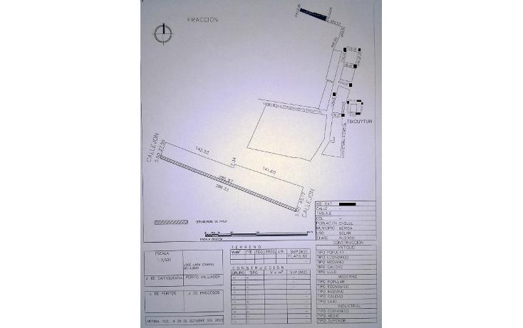 Foto de terreno habitacional en venta en  , temozon norte, mérida, yucatán, 1459841 No. 01