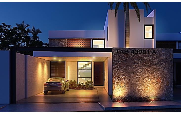 Foto de casa en venta en  , temozon norte, mérida, yucatán, 1477425 No. 01