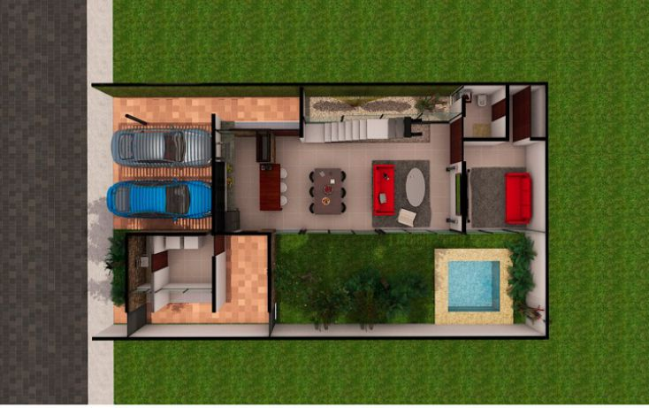Foto de casa en condominio en venta en, temozon norte, mérida, yucatán, 1488043 no 09