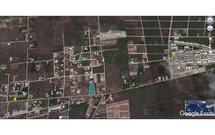 Foto de terreno habitacional en venta en  , temozon norte, mérida, yucatán, 1488977 No. 06