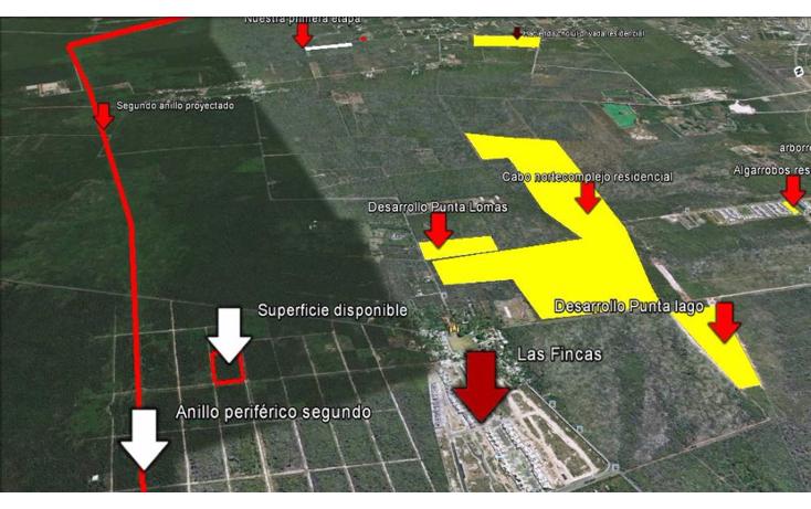 Foto de terreno habitacional en venta en  , temozon norte, mérida, yucatán, 1516238 No. 02