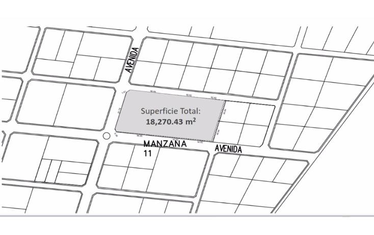 Foto de terreno habitacional en venta en  , temozon norte, mérida, yucatán, 1516238 No. 03