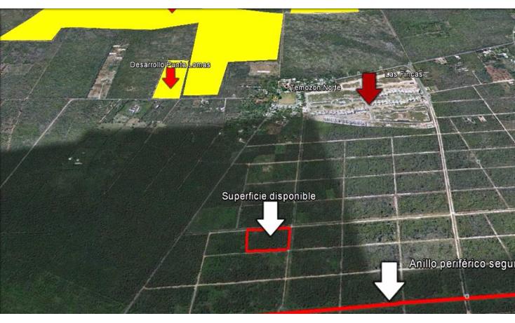 Foto de terreno habitacional en venta en  , temozon norte, mérida, yucatán, 1516238 No. 04