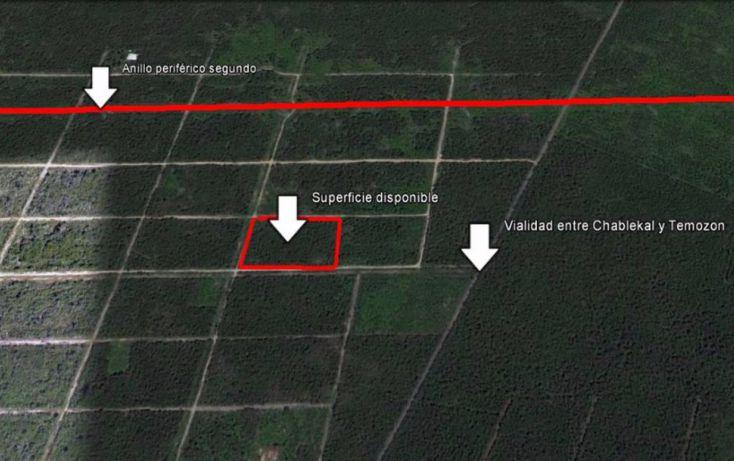Foto de terreno habitacional en venta en, temozon norte, mérida, yucatán, 1516238 no 05
