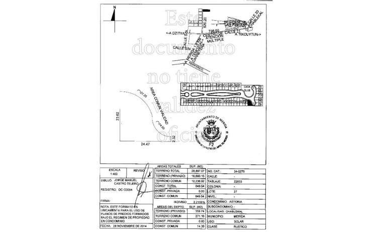 Foto de terreno habitacional en venta en  , temozon norte, m?rida, yucat?n, 1552882 No. 07