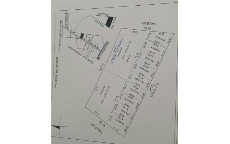 Foto de terreno habitacional en venta en  , temozon norte, m?rida, yucat?n, 1579842 No. 01