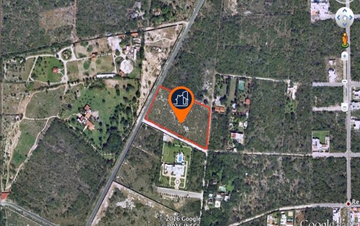 Foto de terreno habitacional en venta en  , temozon norte, m?rida, yucat?n, 1605878 No. 02