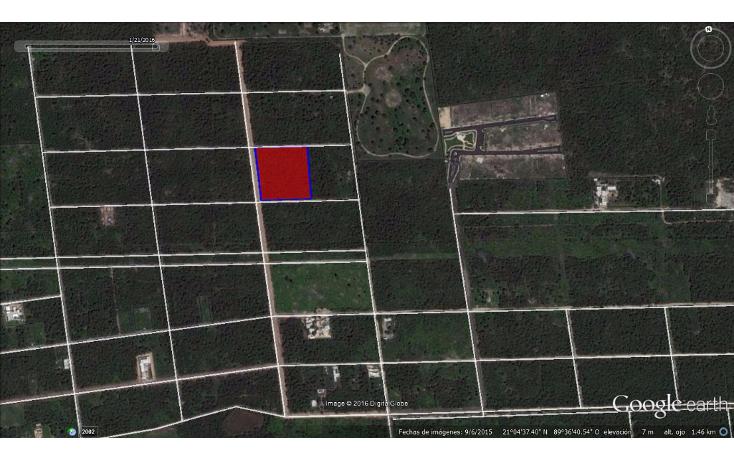 Foto de terreno habitacional en venta en  , temozon norte, m?rida, yucat?n, 1621346 No. 01