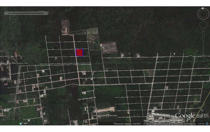 Foto de terreno habitacional en venta en  , temozon norte, m?rida, yucat?n, 1621346 No. 03