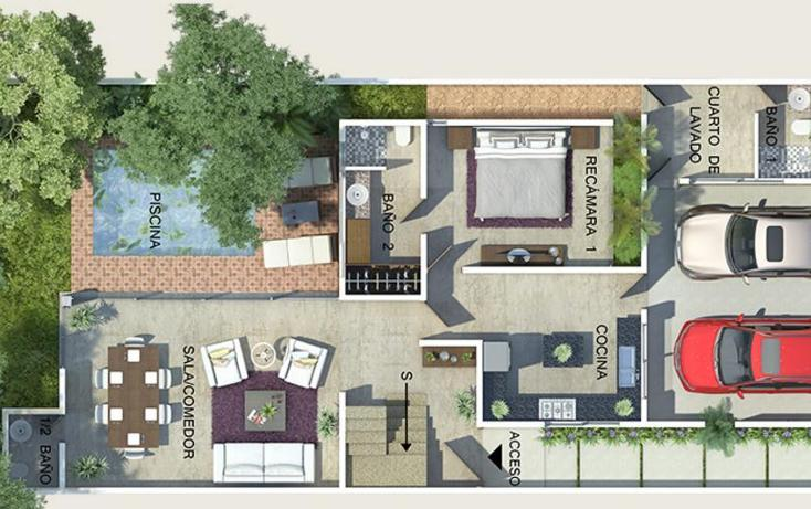 Foto de casa en venta en  , temozon norte, mérida, yucatán, 1631986 No. 02