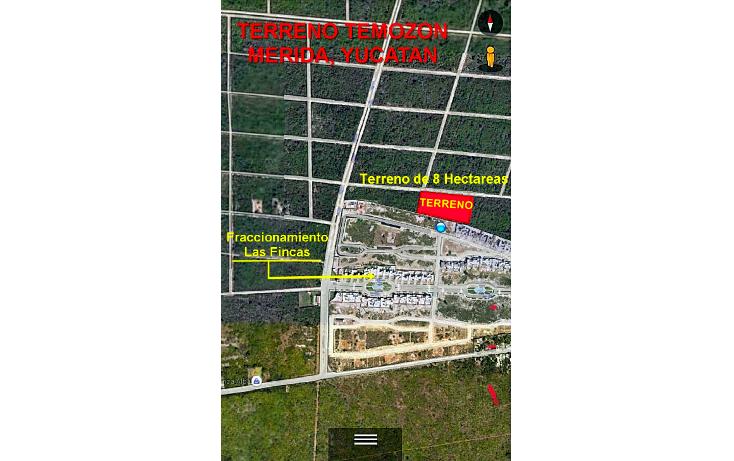 Foto de terreno habitacional en venta en  , temozon norte, m?rida, yucat?n, 1639518 No. 01