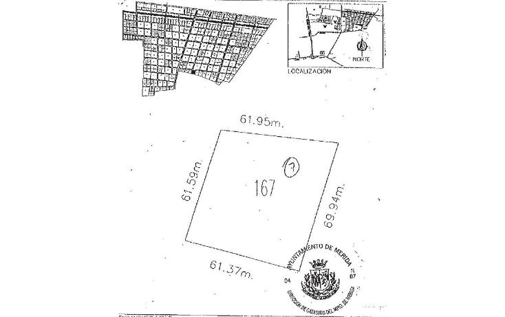 Foto de terreno habitacional en venta en  , temozon norte, m?rida, yucat?n, 1639518 No. 02