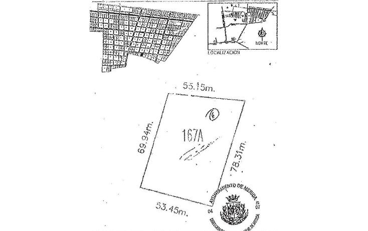 Foto de terreno habitacional en venta en  , temozon norte, mérida, yucatán, 1639518 No. 03