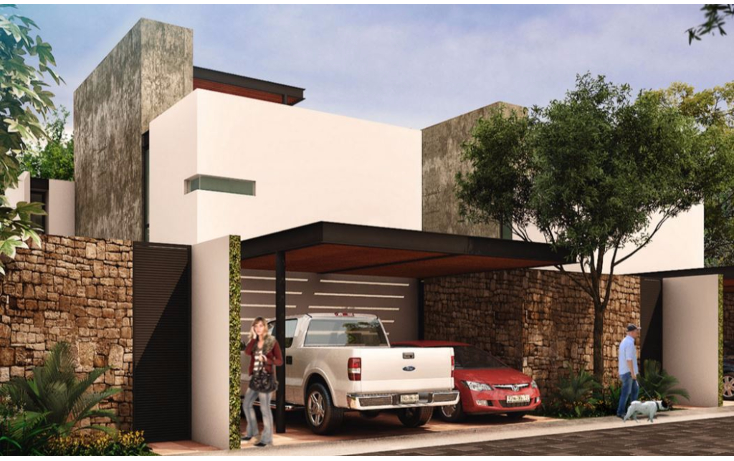 Foto de casa en venta en  , temozon norte, mérida, yucatán, 1639862 No. 02