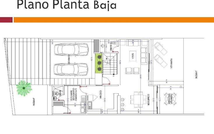Foto de casa en venta en  , temozon norte, mérida, yucatán, 1661432 No. 21