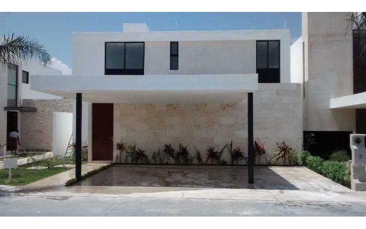 Foto de casa en venta en  , temozon norte, mérida, yucatán, 1676854 No. 01