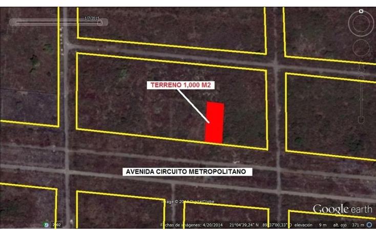 Foto de terreno habitacional en venta en  , temozon norte, mérida, yucatán, 1702394 No. 01