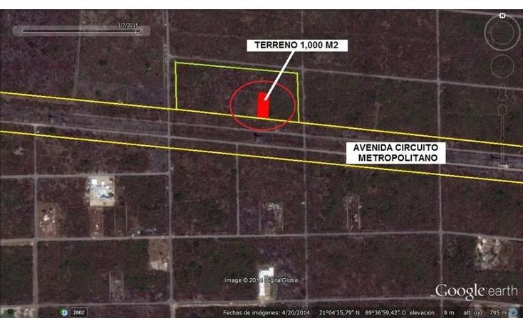 Foto de terreno habitacional en venta en  , temozon norte, mérida, yucatán, 1702394 No. 03