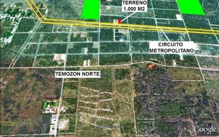 Foto de terreno habitacional en venta en  , temozon norte, mérida, yucatán, 1702394 No. 04