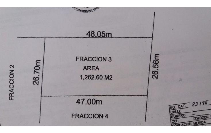 Foto de terreno habitacional en venta en  , temozon norte, mérida, yucatán, 1748842 No. 02