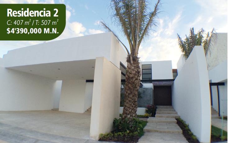 Foto de casa en venta en  , temozon norte, mérida, yucatán, 1757292 No. 01