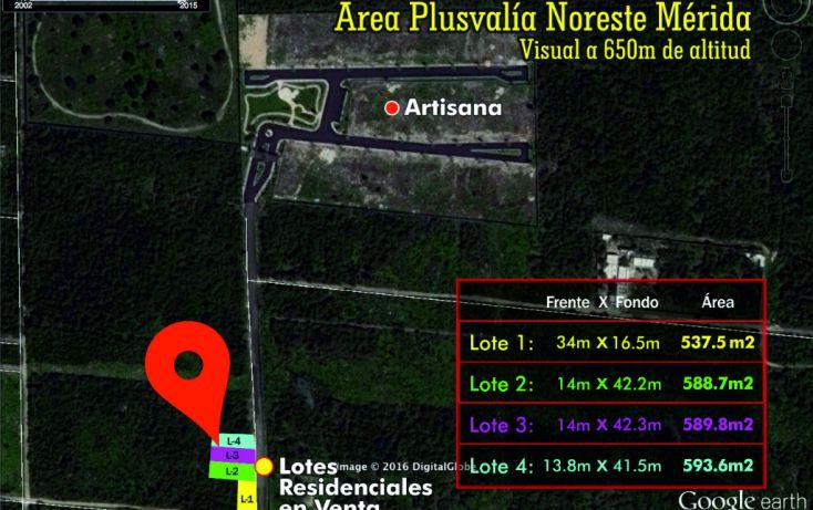 Foto de terreno habitacional en venta en, temozon norte, mérida, yucatán, 1760496 no 02