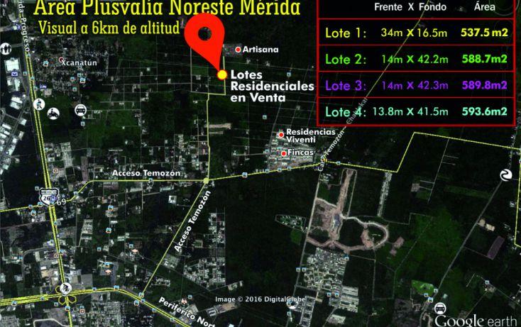 Foto de terreno habitacional en venta en, temozon norte, mérida, yucatán, 1760496 no 03