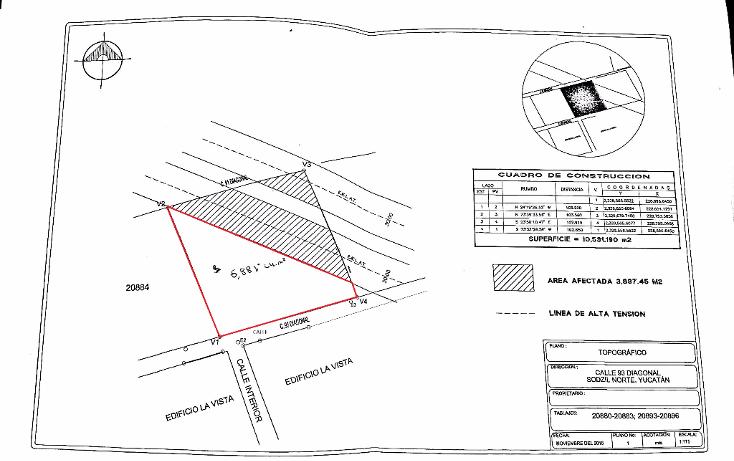 Foto de terreno habitacional en venta en  , temozon norte, m?rida, yucat?n, 1776510 No. 02