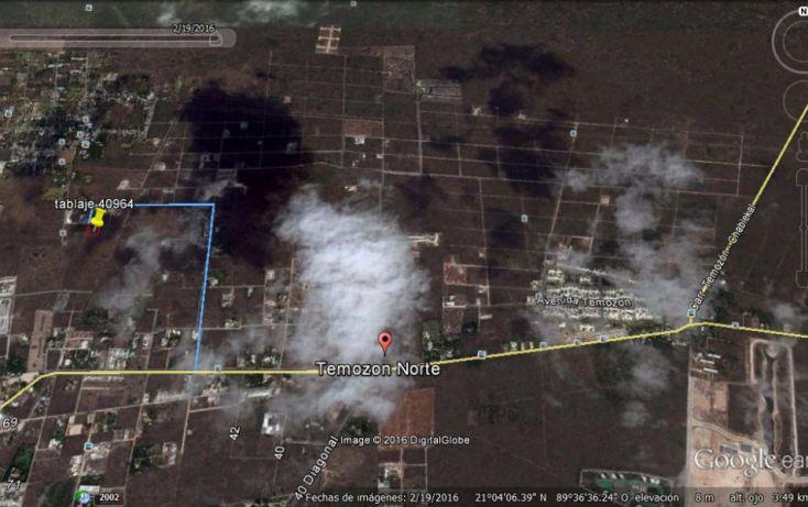 Foto de terreno habitacional en venta en, temozon norte, mérida, yucatán, 1808096 no 02