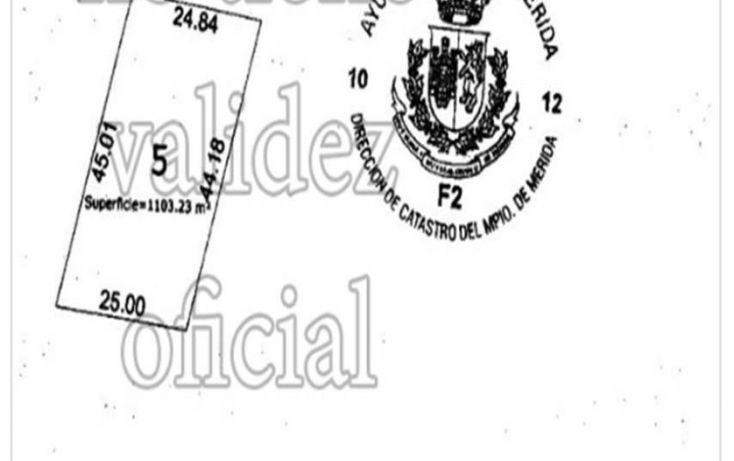 Foto de terreno habitacional en venta en, temozon norte, mérida, yucatán, 1831672 no 01