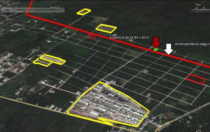 Foto de terreno habitacional en venta en, temozon norte, mérida, yucatán, 1831672 no 03