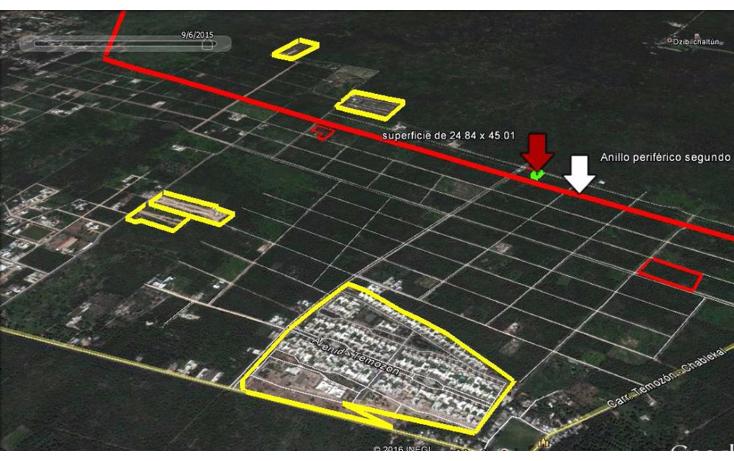 Foto de terreno habitacional en venta en  , temozon norte, m?rida, yucat?n, 1831672 No. 03