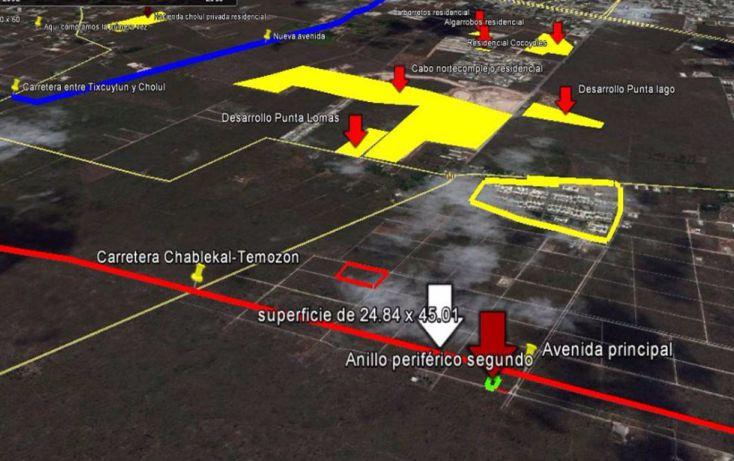 Foto de terreno habitacional en venta en, temozon norte, mérida, yucatán, 1831672 no 04