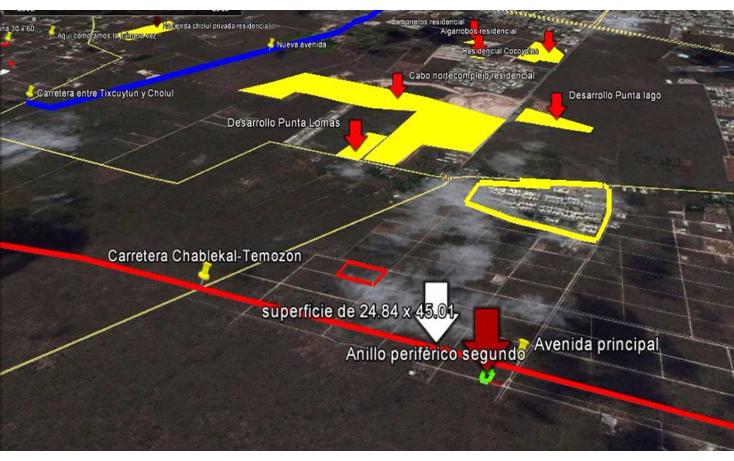 Foto de terreno habitacional en venta en  , temozon norte, m?rida, yucat?n, 1831672 No. 04