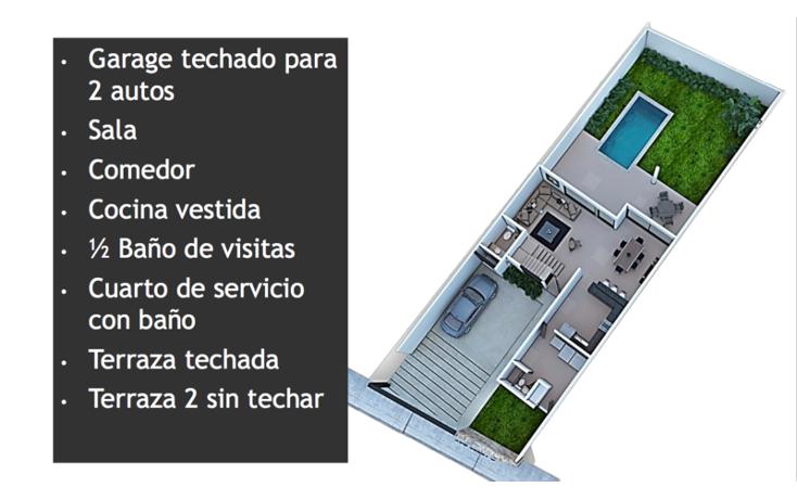 Foto de casa en venta en  , temozon norte, mérida, yucatán, 1871088 No. 14