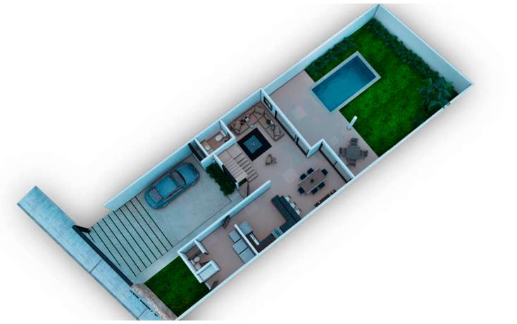 Foto de casa en venta en  , temozon norte, m?rida, yucat?n, 1907464 No. 09